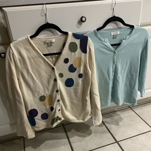 BUTTON DOWN SWEATER OR CARDIGAN BUNDLE